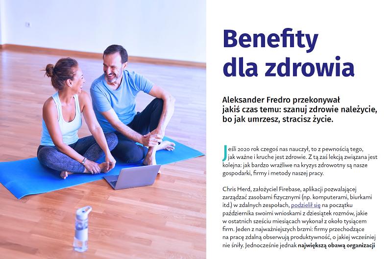 Niezbędnik benefitowy benefity dla zdrowia